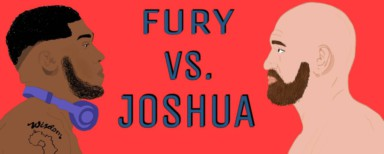 World heavyweight boxing champions Tyson Fury vs Anthony Joshua