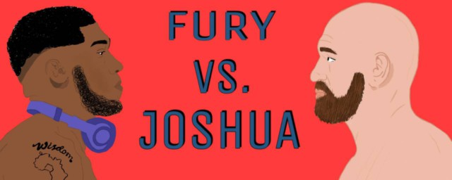 Fury vs Joshua fight poster
