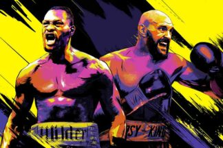 Tyson Fury vs Deontay Wilder PPV poster