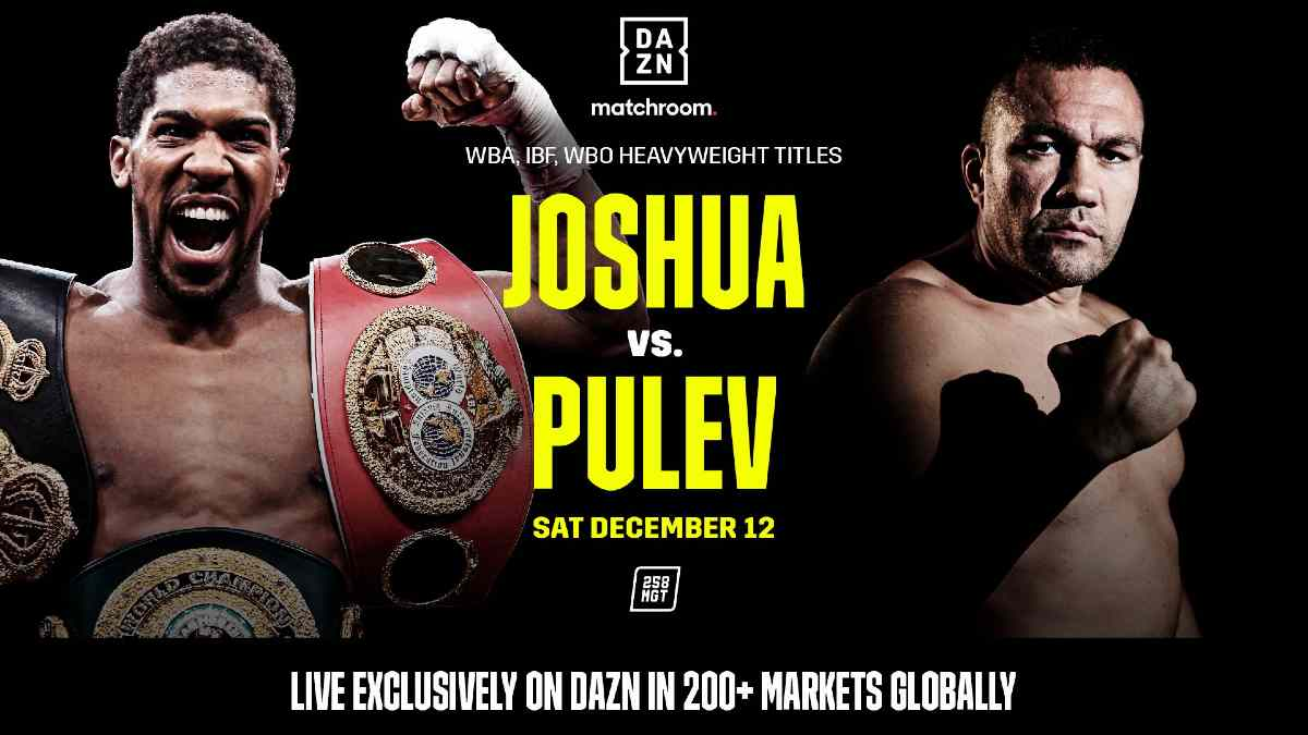 DAZN Joshua vs Pulev