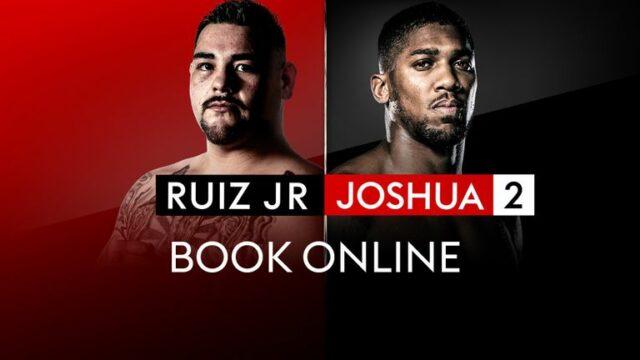 Andy Ruiz vs Anthony Joshua 2 Sky Sports