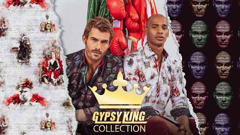 Tyson Fury shirt collection