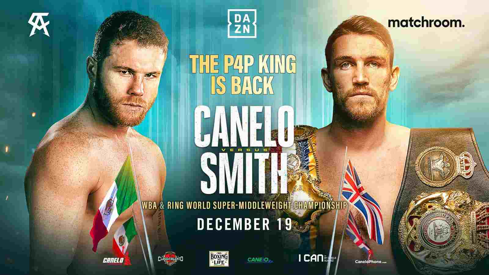 Canelo Alvarez vs Callum Smith DAZN