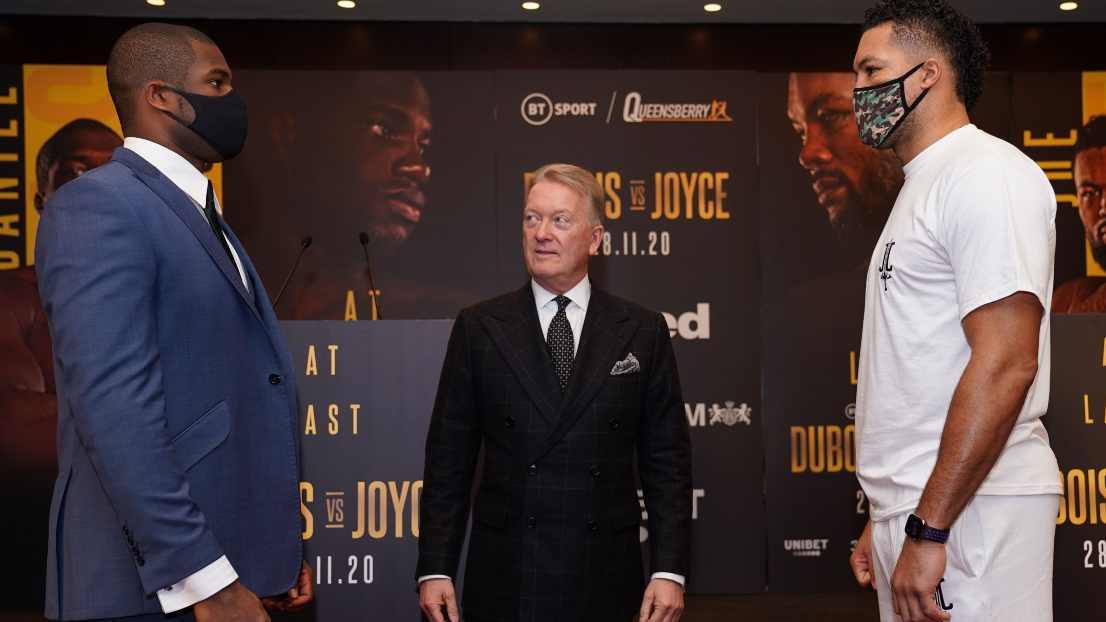 Daniel Dubois vs Joe Joyce Final Press Conference