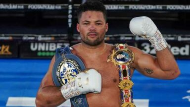 Joe Joyce belts Daniel Dubois