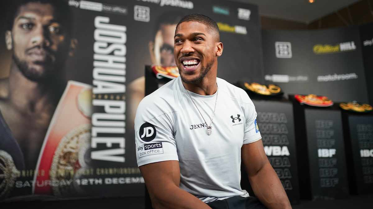 Anthony Joshua vs Kubrat Pulev Press Conference
