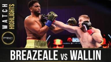 Otto Wallin vs Dominic Breazeale
