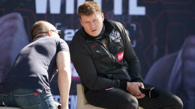 Alexander Povetkin Press Conference Dillian Whyte 2