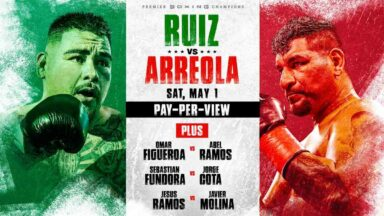Andy Ruiz Jr vs Chris Arreola