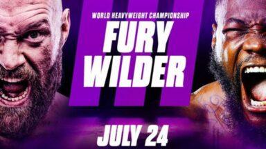 Fury vs Wilder 3 Press Conference Live