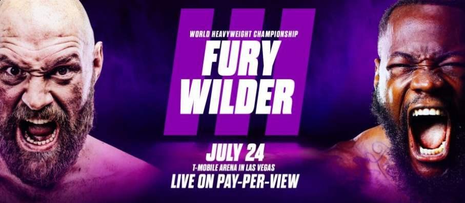 Fury vs Wilder 3 Fight Poster