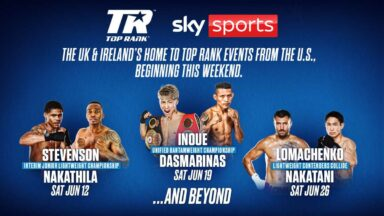 Sky Sports Boxing Top Rank