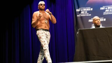 Tyson Fury Deontay Wilder Press Conference