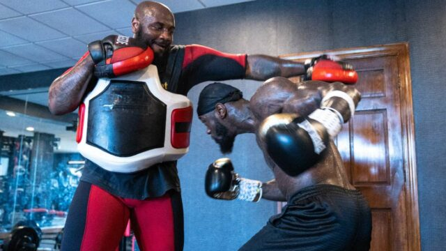 Deontay Wilder Tyson Fury Training