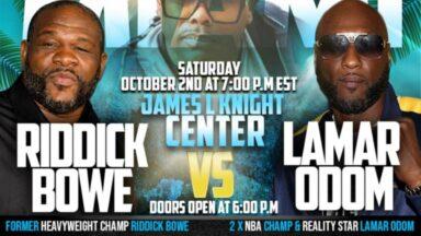 Riddick Bowe vs Lamar Odom