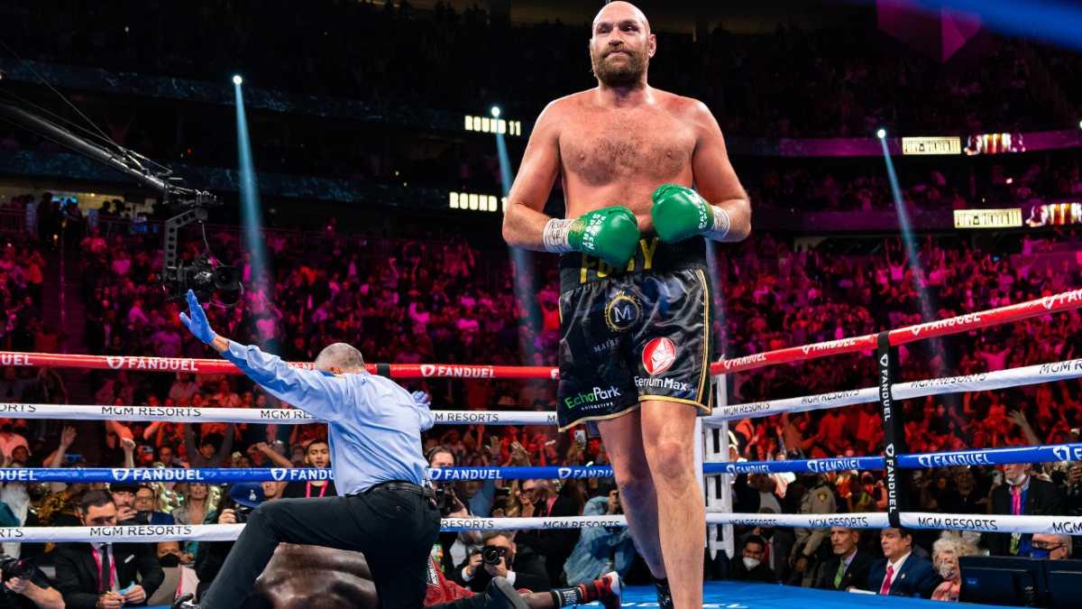 Tyson Fury vs Deontay Wilder 3 Knockout October 2021