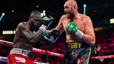 Tyson Fury vs Deontay Wilder 3 October 2021 Las Vegas